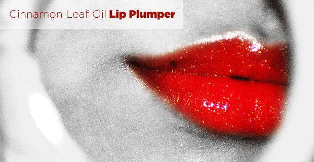 cinnamon leaf oil lip plumper