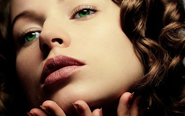Beautiful Acne Free Woman